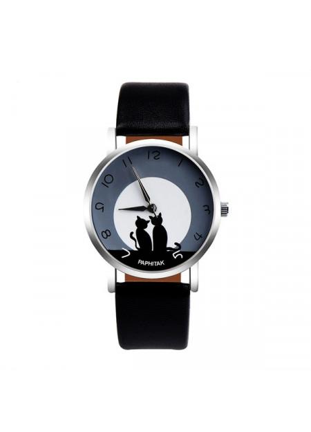 Horloge katten