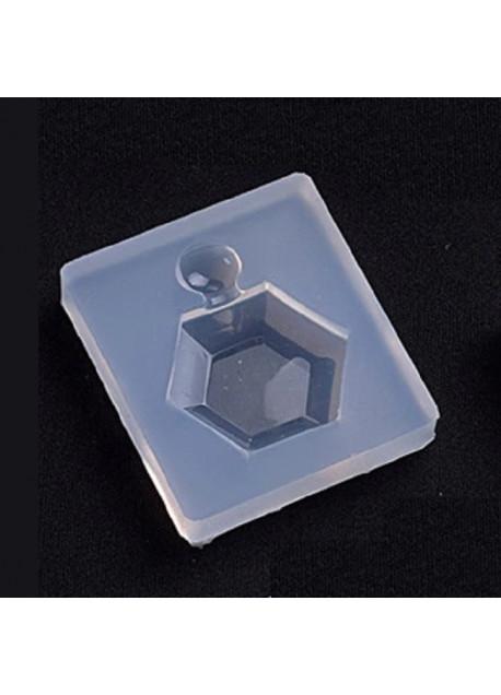 Parfumfles 3d zeskantig