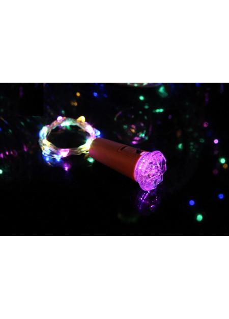 LED lichtsnoer met diamant dop