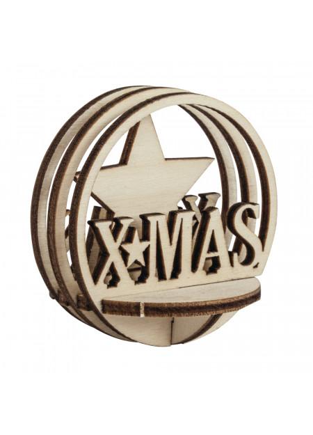 X-MAS houten steekdelen