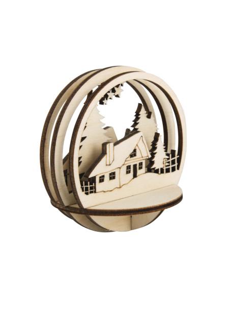Berghut houten steekdelen