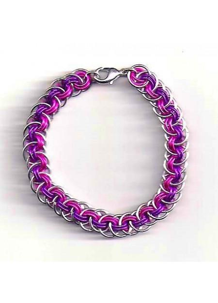 "Chainmaille armband ""Orbital Vipera Berus"""