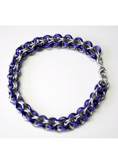 "Chainmaille armband ""Inverted roundmaille"""