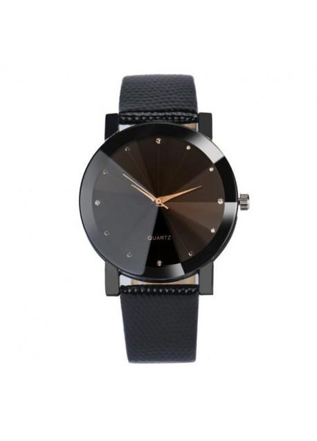 Unisex facet horloge