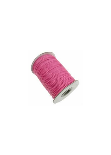 Waxkoord fuchsia roze
